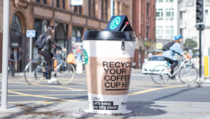 Recyclable Coffee Cups: Are They Sustainable? | Coffee Cup Recycling Bin | Reusaboo