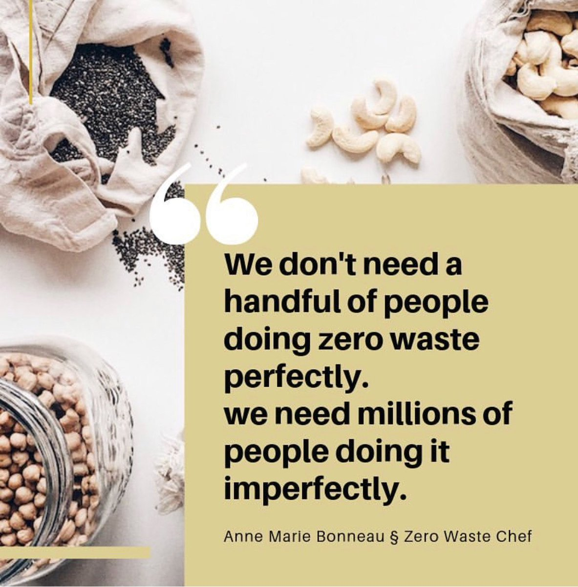We Don't Need A Handful of People Doing Zero Waste Perfectly | Anne Marie Bonneau | Zero Waste Chef