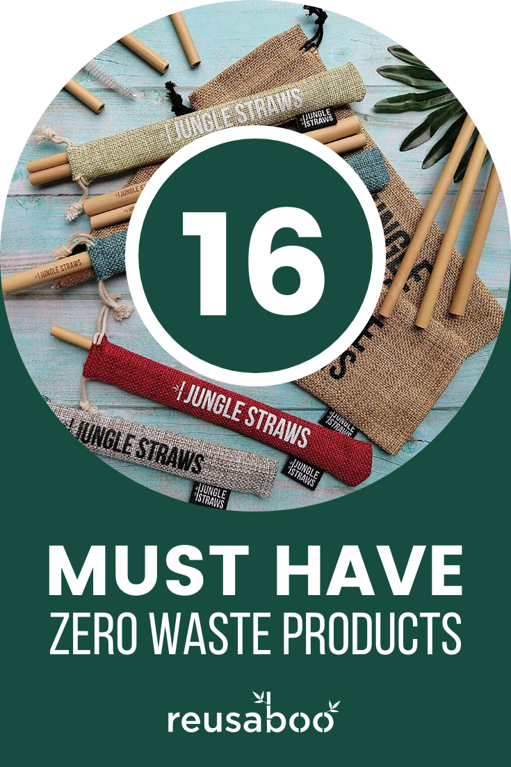 16 Must Have Zero Waste Products | Reusaboo