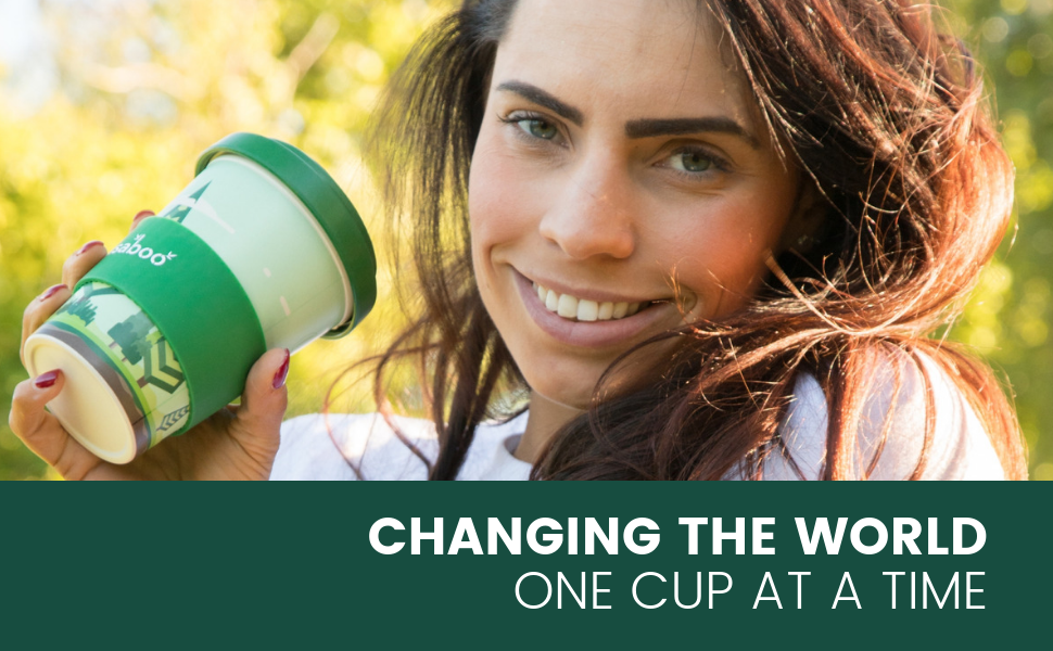 Reusaboo Reusable Bamboo Coffee Cup | Changing The World One Cup At A Time