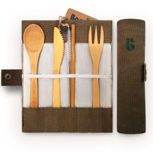 Bambaw Bamboo Cutlery Travel Set