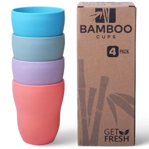 Get Fresh Bamboo Cups