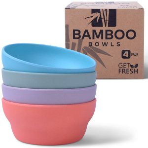 Get Fresh Reusable Bamboo Bowls