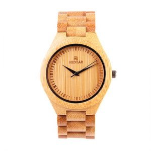 REDEAR Bamboo Watch