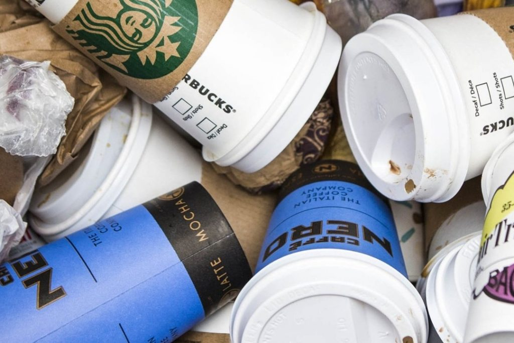 Disposable Coffee Cups | Ways To Reduce Plastic Waste and Plastic Pollution | Reusaboo