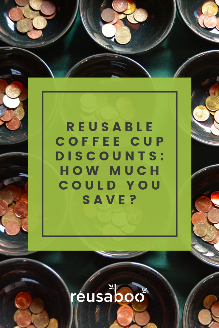 Reusable Coffee Cup Discounts - How Much Could You Save?
