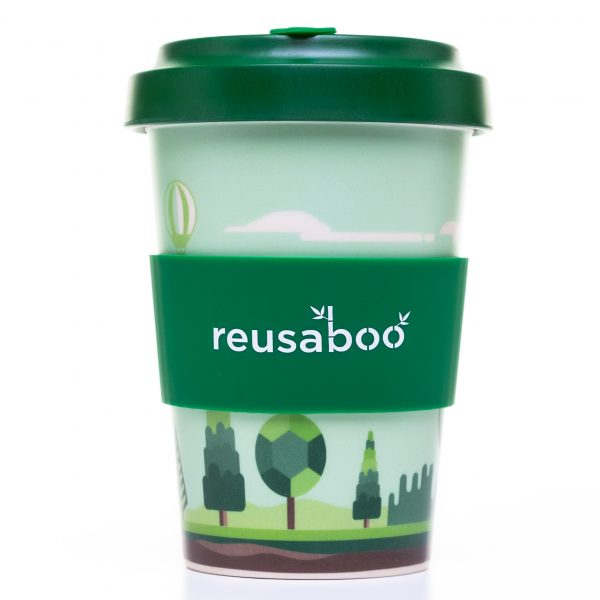 Reusaboo Reusable Bamboo Coffee Cup