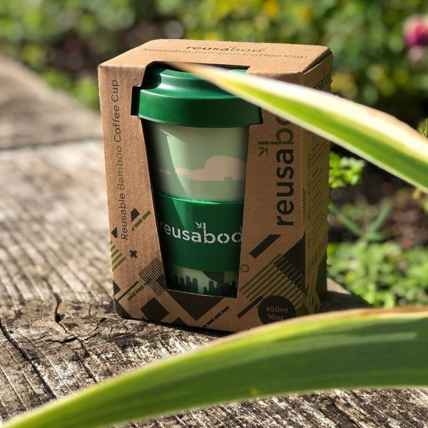Reusaboo Reusable Bamboo Coffee Cups Wholesale