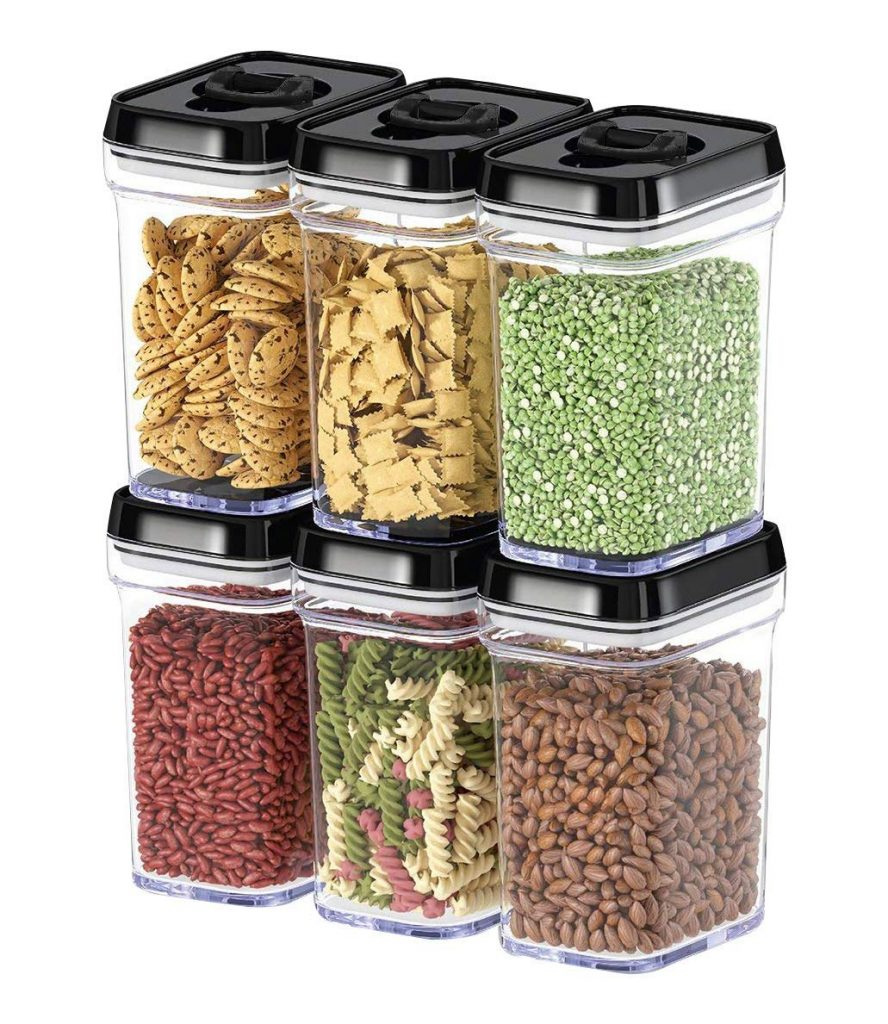 Stackable Food Storage Containers | Reduce Food Waste | Reusaboo