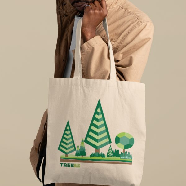 Tree Bag Lifestyle Square 4 | Reusaboo