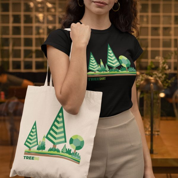 Tree Bag Lifestyle Square 5 | Reusaboo