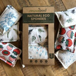 Reusaboo Natural Eco Sponges