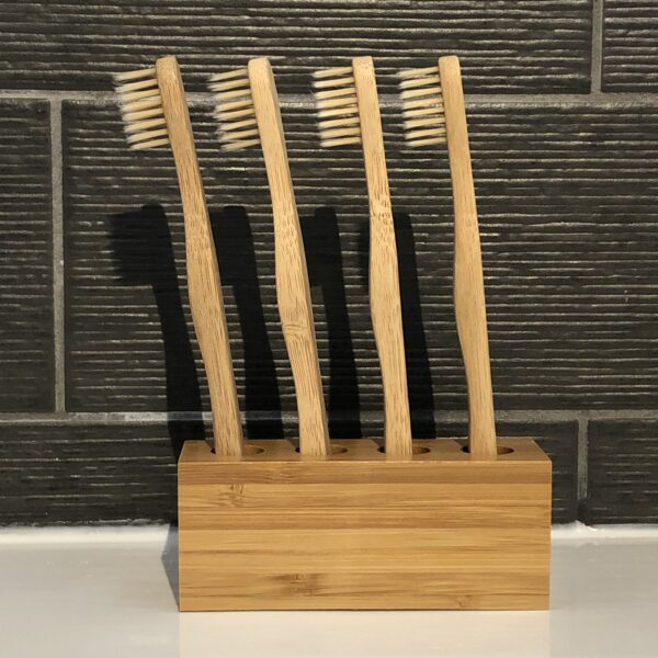4 x Child Bamboo Toothbrushes   Eco-friendly   Zero Waste   Reusaboo