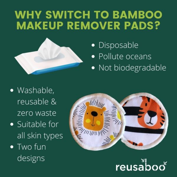 WHY SWITCH TO BAMBOO MAKEUP REMOVER PADS