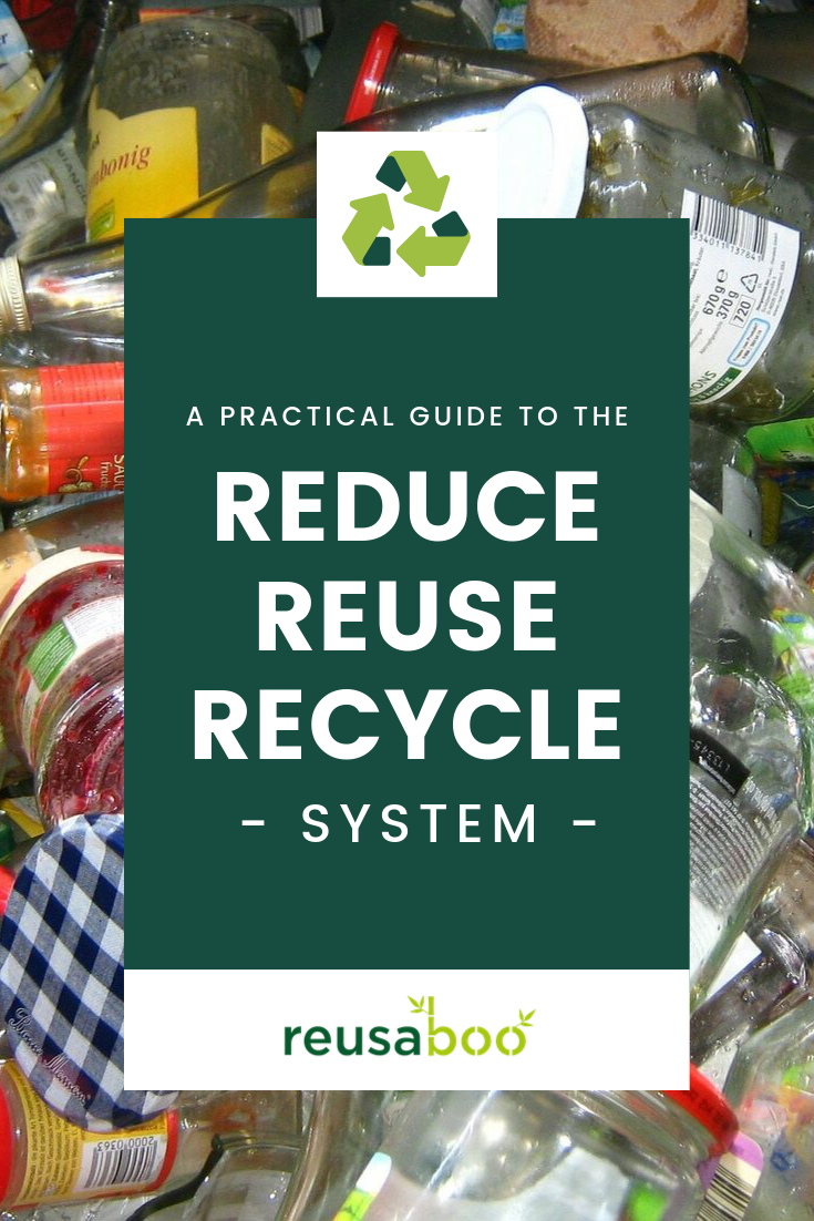 A Practical Guide To The Reduce Reuse Recycle System