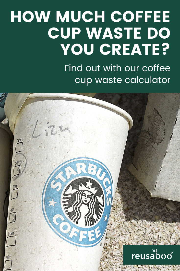 How Much Coffee Cup Waste Do You Create Blog Pinterest